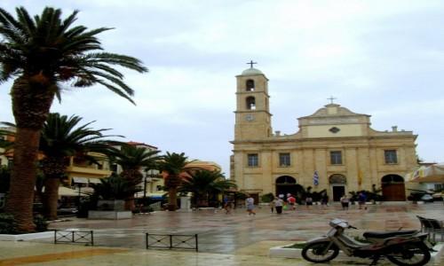 Zdjęcie GRECJA / Kreta Zachodnia / Chania / Katedra Marii Panny po deszczu