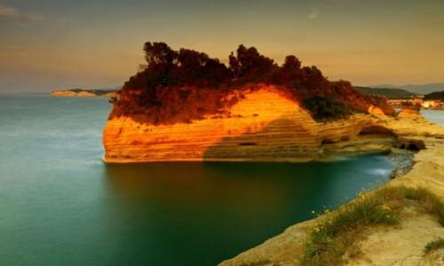 Zdjęcie GRECJA / Korfu / Sidari / Klifowe wybrzeże w Sidari
