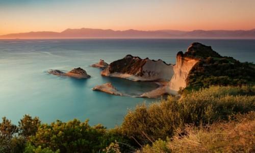 Zdjęcie GRECJA / Korfu / Sidari / Klify
