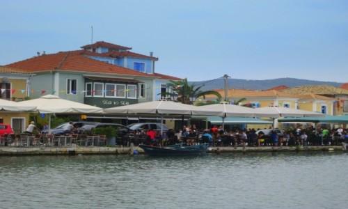Zdjęcie GRECJA / Lefkada / Lefkada Town / Nabrzeże miasta Lefkada