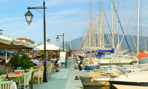 Zdjęcie GRECJA / Lefkada / Lefkas Town / Promenada