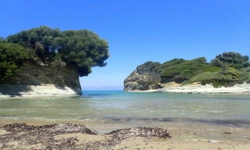 GRECJA / Korfu / Sidari / Korfu - kanał miłości w Sidari