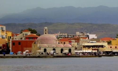 Zdjecie GRECJA / Kreta Zachodnia / Chania / Kopuły meczetu