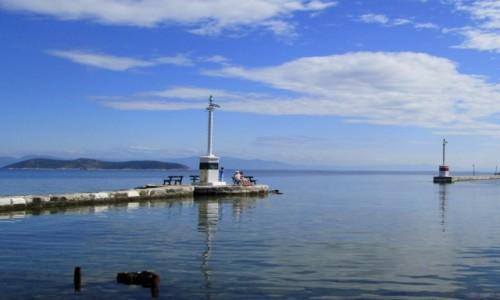 Zdjęcie GRECJA / Thassos / Limenas / Wejście do portu w Limenas