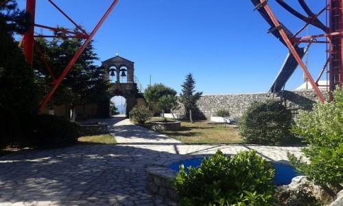 GRECJA / Korfu / Pantokrator / Korfu - szczyt Pantokrator
