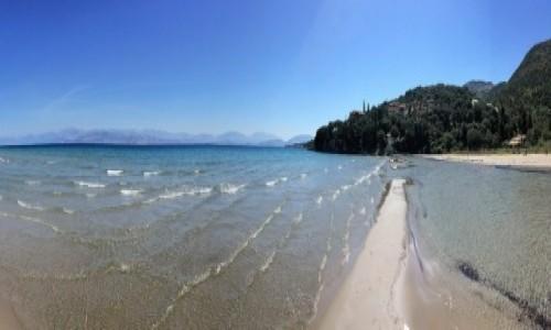 GRECJA / Korfu / Apraos Beach / Plaża Apraos Beach - Korfu