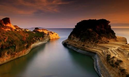 Zdjęcie GRECJA / Korfu / Sidari /  Słynny kanał miłości