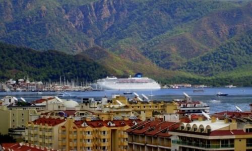 Zdjecie TURCJA / Wybrzeże Egejskie / Marmaris / Marmaris panorama