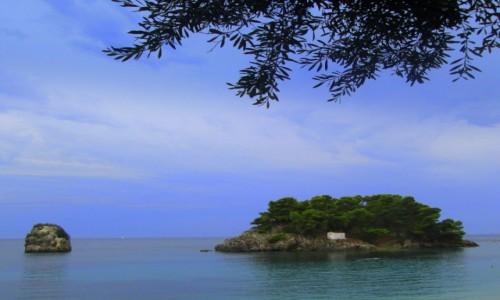 Zdjecie GRECJA / Epir / Parga / Wyspa dla samotników