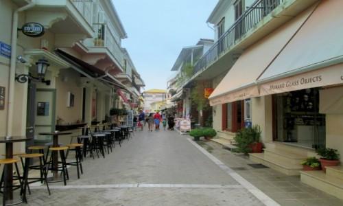 Zdjęcie GRECJA / Lefkada / Lefkada miasto / Ulica Lefkady