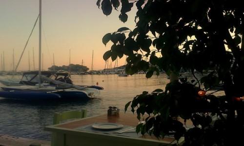 Zdjecie GRECJA /  Sporady Północne / Skiathos Town / Czas na kolację