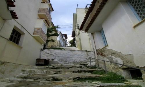 Zdjecie GRECJA / Sporady Północne / Skiathos Town / Strome uliczki