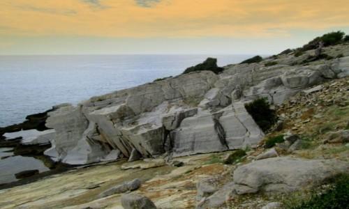 Zdjecie GRECJA / Thassos / okolice Aliki / Marmurowe wybrzeże