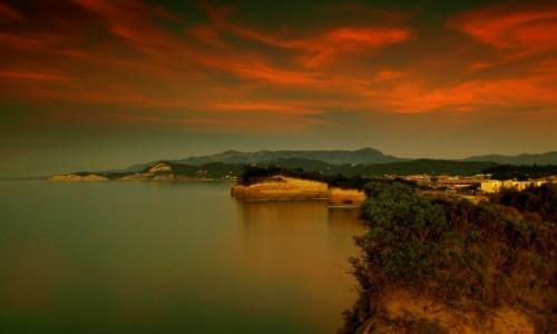Zdjęcie GRECJA / Korfu / Sidari / Gdy noc zapada