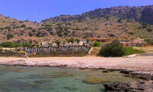 Zdjecie GRECJA / Rodos / Pefkos / Plaża w okolicy Pefkos