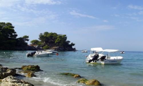 Zdjecie GRECJA / Epir / Parga / Z brzegu