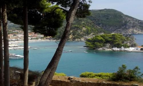 Zdjecie GRECJA / Epir  / Parga / Widok na wysepkę z kościółkiem