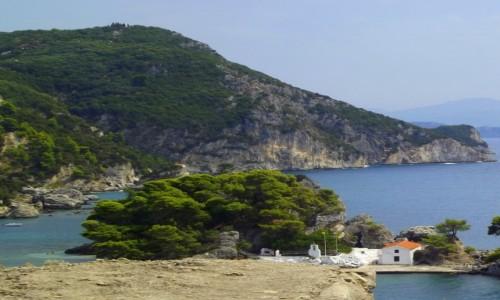 Zdjecie GRECJA / Epir  / Parga / Wybrzeże w okolicach Pargi