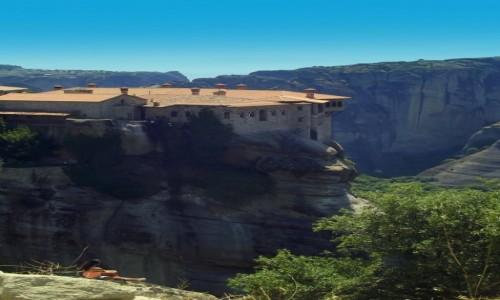Zdjecie GRECJA / masyw Meteory / okolice Kalampaki / Dziewczyny do klasztorów ;)