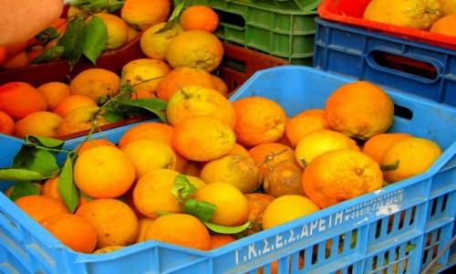 Zdjęcie GRECJA / Lefkada / Lefkada Town / Prawdziwe słodkie pomarańcze