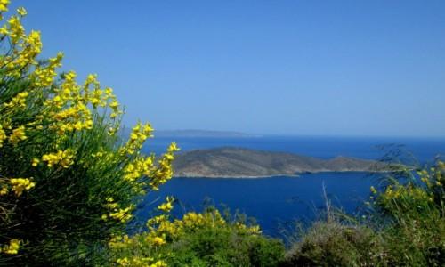 Zdjecie GRECJA / Kreta Wschodnia / okolice Sitii / Bezludna wyspa