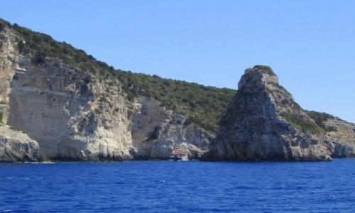 Zdjecie GRECJA / Sporady Północne / okolice Skopelos / Góra na morzu