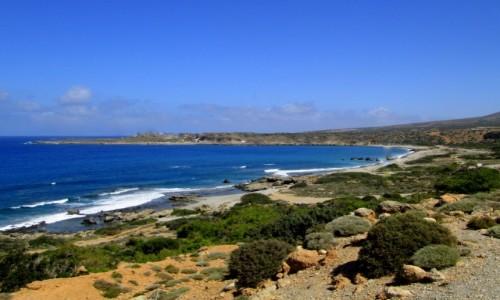 GRECJA / Kreta Zachodnia / okolice Elafonissi / * W drodze do Elafonisi