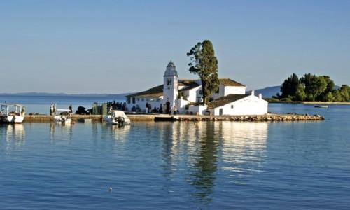 Zdjęcie GRECJA / - / Korfu / Monastyr Vlacherna