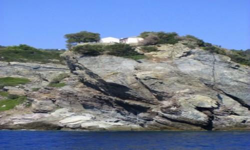 Zdjecie GRECJA / Sporady Północne / okolice Skopelos / Na wysokiej skale