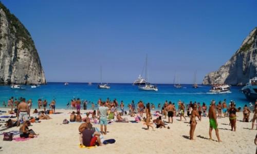 Zdjecie GRECJA / Zakynthos / Zakynthos / Plaża przemytników