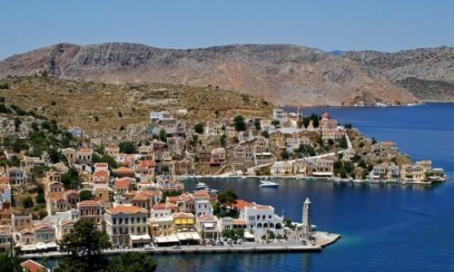 Zdjęcie GRECJA / Wyspy Egejskie / Simi / Simi