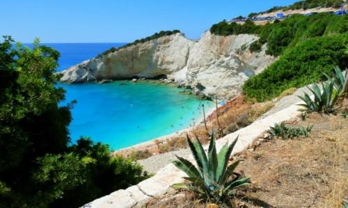 GRECJA / Morze Jońskie / Porto Katsiki / A to Grecja właśnie