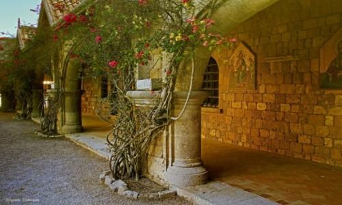 Zdjęcie GRECJA / Rodos / Wzgórze w okolicy Ialyssos, / Klasztor Filerimos