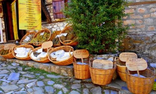 Zdjęcie GRECJA / Macedonia / Paleos Pantelejmonas / Niezłe ziółka