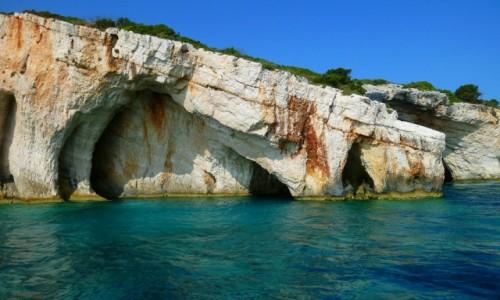 Zdjecie GRECJA / Morze Jońskie / Zakynthos / Blue Cave