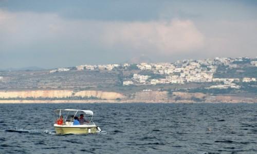Zdjęcie GRECJA / Kreta / Chania / Na morzu