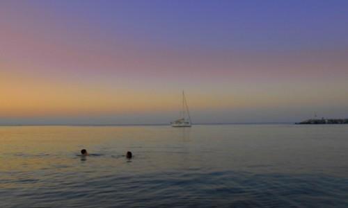 Zdjęcie GRECJA / Macedonia / Platamonas / Po zachodzie słońca