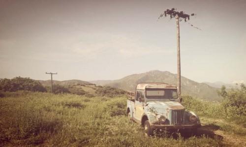Zdjęcie GRECJA / makedonja / kalampaka / stare auto