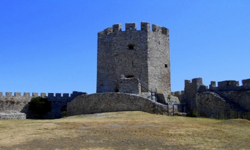 Zdjecie GRECJA / Macedonia / Platamonas / Zamek w Platamonie