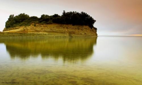 Zdjecie GRECJA / Korfu / Sidari / Morze we mgle
