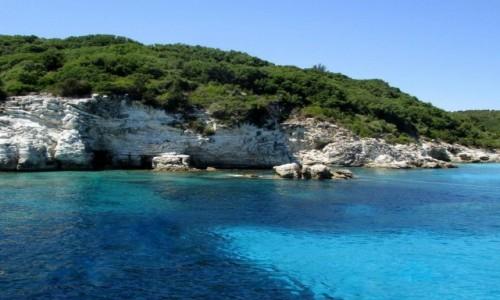 Zdjecie GRECJA / Morze Jońskie / Wyspa Antipaxos / Greckie Karaiby