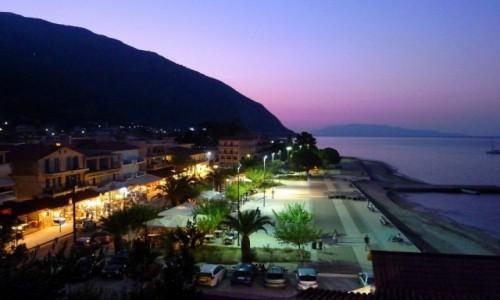 Zdjecie GRECJA / Kefalonia / Poros / Wieczór po ciężkim dniu (na morzu)
