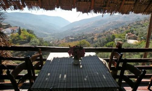 Zdjecie GRECJA / Kreta wyspa / w drodze na Elafonissi / widok