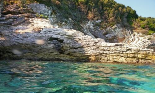 Zdjecie GRECJA / Morze Jońskie / Antipaxos / Zatoczka w Raju