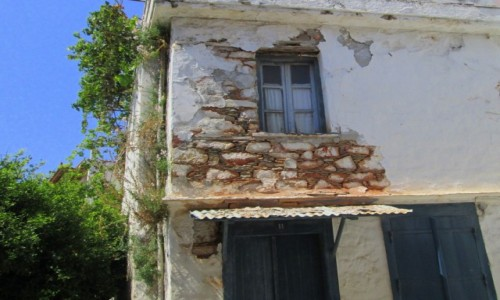 Zdjecie GRECJA / Sporady Północne / Skopelos Town / Stary dom