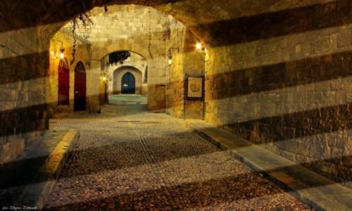 Zdjęcie GRECJA / Rodos / Rodos / Zaułki Starego Miasta