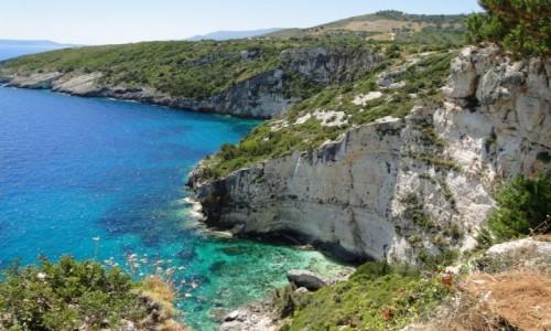 Zdjęcie GRECJA / Zakynthos / Wybrzeże w okolicach półwyspu Keri. / Wspomnienie z Zakynthos