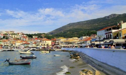 Zdjęcie GRECJA / Epir / Parga / Parga - bulwar