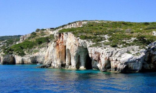 Zdjęcie GRECJA / Wyspy Jońskie - Zakynthos / Błękitne Groty / Wspomnienie z Zakynthos