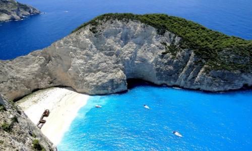 Zdjecie GRECJA / Wyspy Jońskie - Zakynthos / Zatoka Wraku / Wspomnienie z Zakynthos